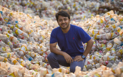 The man who turns waste into wealth